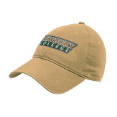 Vegas Gold Twill Unstructured Low Profile Hat-Newbury College