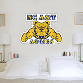 2 ft x 4 ft Fan WallSkinz-NC A&T Aggies