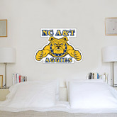 1.5 ft x 3 ft Fan WallSkinz-NC A&T Aggies