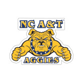Small Decal-NC A&T Aggies, 6 in W