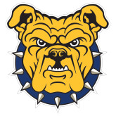 Extra Large Decal-Bulldog Head, 18 in W