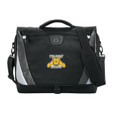 Slope Black/Grey Compu Messenger Bag-NC A&T Aggies