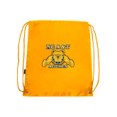 Gold Drawstring Backpack-NC A&T Aggies