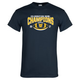 Navy T Shirt-2017 Celebration Bowl