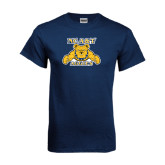 Navy T Shirt-NC A&T Aggies