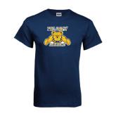 Navy T Shirt-NC A&T Aggies