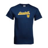 Navy T Shirt-Baseball Bat