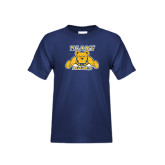 Youth Navy T Shirt-NC A&T Aggies