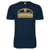 Next Level SoftStyle Navy T Shirt-2017 Celebration Bowl