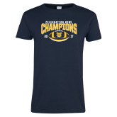Ladies Navy T Shirt-2017 Celebration Bowl