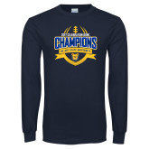 Navy Long Sleeve T Shirt-2017 Celebration Bowl