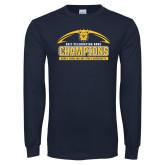 Navy Long Sleeve T Shirt-2017 Celebration Bowl