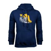 Navy Fleece Hood-Cross Country Sneaker
