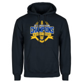 Navy Fleece Hoodie-2017 Celebration Bowl