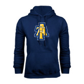 Navy Fleece Hood-AT