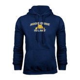 Navy Fleece Hood-Aggie Pride