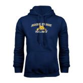 Navy Fleece Hood-Aggie Pride