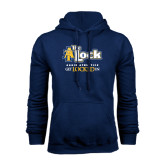 Navy Fleece Hoodie-AT-The Lock-Aggie Athletics Get Locked In