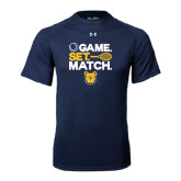 Under Armour Navy Tech Tee-Tennis Game Set Match