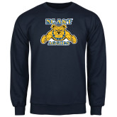 Navy Fleece Crew-NC A&T Aggies