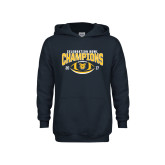 Youth Navy Fleece Hoodie-2017 Celebration Bowl
