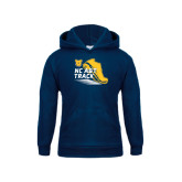 Youth Navy Fleece Hoodie-Cross Country Sneaker