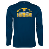 Performance Navy Longsleeve Shirt-2017 Celebration Bowl