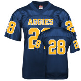Replica Navy Adult Football Jersey-#28