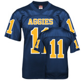 Replica Navy Adult Football Jersey-#11