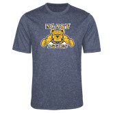 Performance Navy Heather Contender Tee-NC A&T Aggies