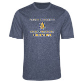 Performance Navy Heather Contender Tee-Grandpa