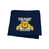 Navy Sweatshirt Blanket-NC A&T Aggies