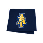 Navy Sweatshirt Blanket-AT