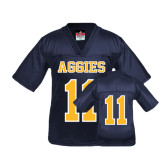 Youth Replica Navy Football Jersey-#11