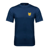 Performance Navy Tee-Bulldog Head