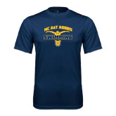 Performance Navy Tee-Swim & Dive Butterfly Swimmer