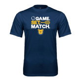 Performance Navy Tee-Tennis Game Set Match