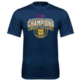 Syntrel Performance Navy Tee-2016 MEAC Champions Womens Basketball