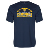 Performance Navy Tee-2017 Celebration Bowl