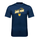 Performance Navy Tee-Basketball Pride