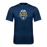Performance Navy Tee-Tall Football