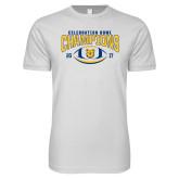 Next Level SoftStyle White T Shirt-2017 Celebration Bowl