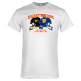 White T Shirt-Celebration Bowl - VS Design