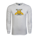 White Long Sleeve T Shirt-NC A&T Aggies