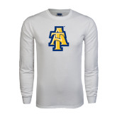 White Long Sleeve T Shirt-AT