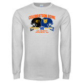 White Long Sleeve T Shirt-Celebration Bowl - VS Design