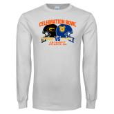 White Long Sleeve T Shirt-Celebration Bowl - VS Design