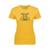 Ladies Gold T Shirt-NC A&T Aggies