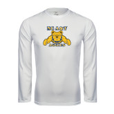 Performance White Longsleeve Shirt-NC A&T Aggies