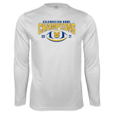 Performance White Longsleeve Shirt-2017 Celebration Bowl